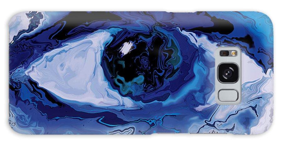Eye Galaxy Case featuring the digital art Eye by Rabi Khan