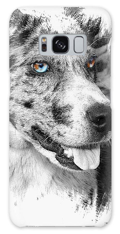Dog Galaxy S8 Case featuring the photograph Eyes by Joyce Baldassarre