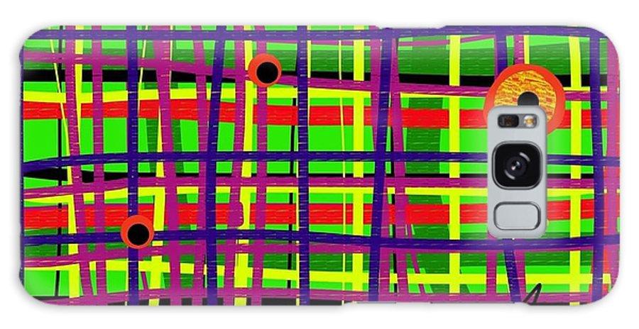 Galaxy S8 Case featuring the digital art Eyes On The Grid by Susan Fielder