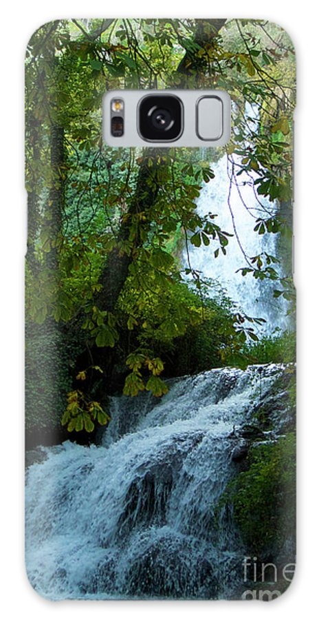 Nature Galaxy S8 Case featuring the photograph Eyes Over The Flowing Water by Xabi Lobo