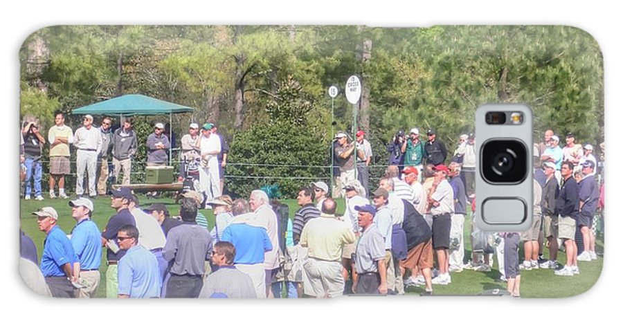 Masters Golf Tournament Galaxy S8 Case featuring the photograph F O R E by David Bearden