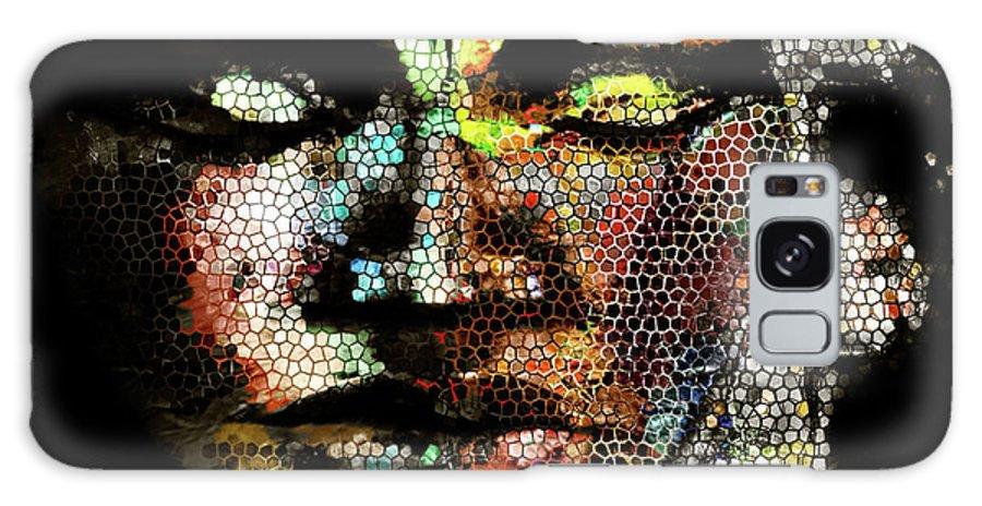Digital Art.the Face Galaxy S8 Case featuring the digital art Face by Lea Davis