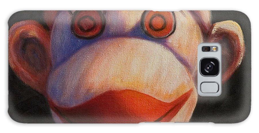 Children Galaxy Case featuring the painting Face by Shannon Grissom