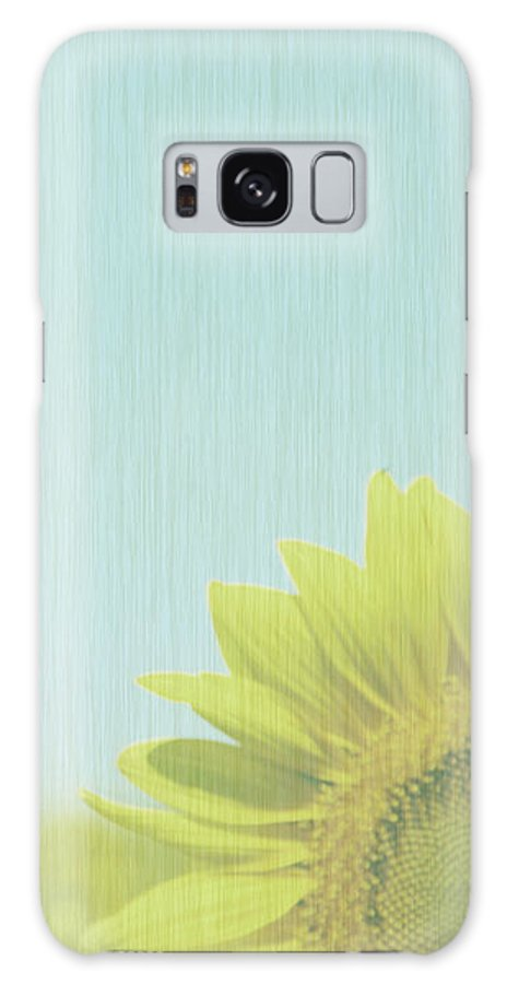 Sunflowers Galaxy S8 Case featuring the photograph Faded by Amanda Barcon
