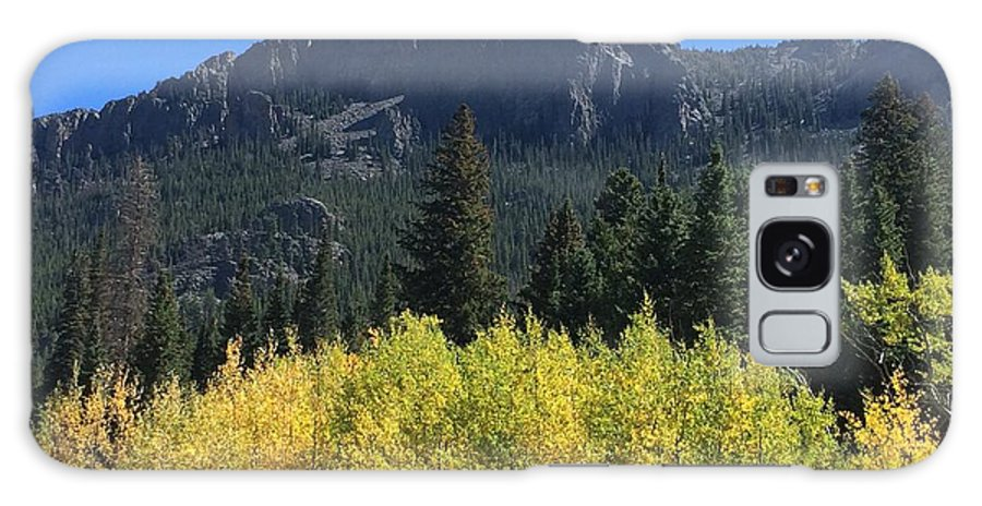 Landscape Galaxy Case featuring the photograph Fall at Twin Sisters by Kristen Anna
