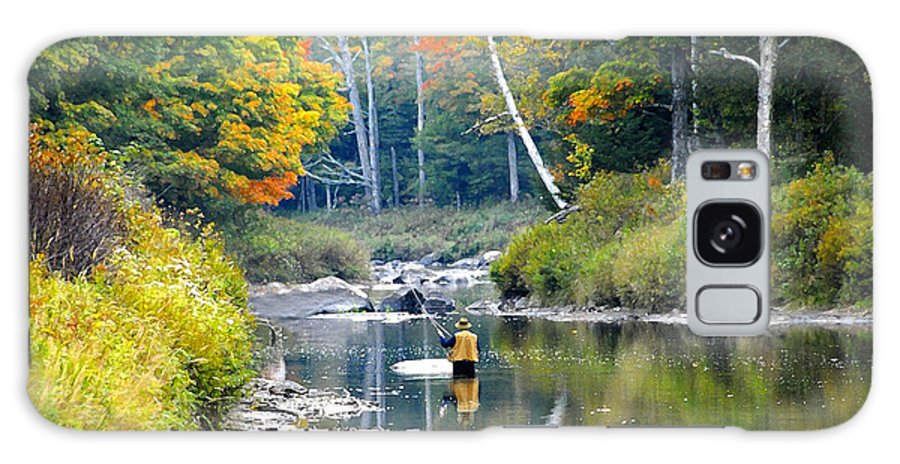 Fall Galaxy S8 Case featuring the photograph Fall Fishing by David Lee Thompson