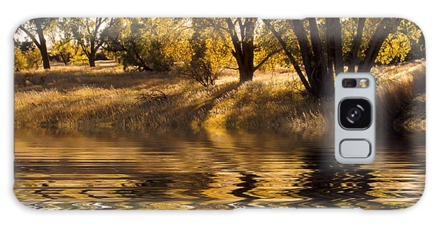 Fall Galaxy S8 Case featuring the photograph Fall Reflections by Jerry McElroy