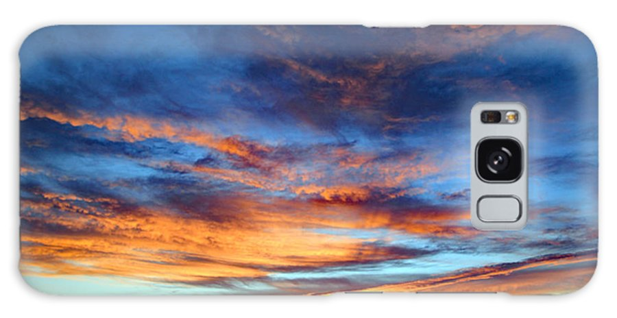 Galaxy S8 Case featuring the photograph Fall Sunset by Kevin Mcenerney