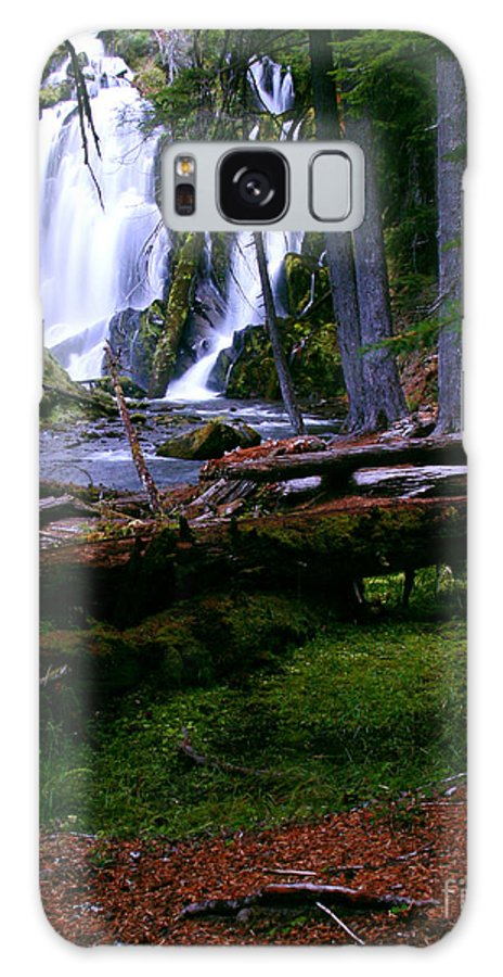 Waterfall Galaxy S8 Case featuring the photograph Fall Through by Peter Piatt