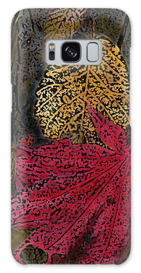 Leaves Galaxy S8 Case featuring the photograph Fallen Leaves by Ian MacDonald