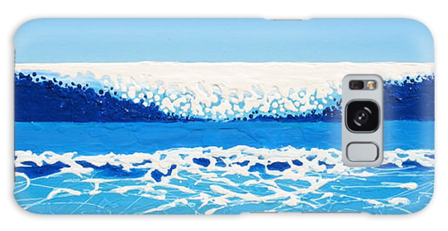 Ocean Galaxy Case featuring the painting Falling Sea by Jaison Cianelli