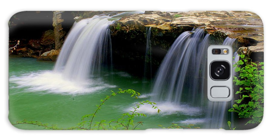 Waterfalls Galaxy S8 Case featuring the photograph Falling Water Falls by Marty Koch
