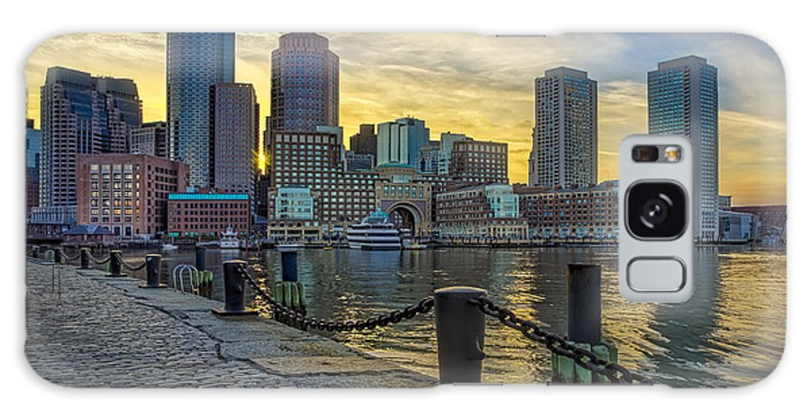 Boston Galaxy S8 Case featuring the photograph Fan Pier Boston Harbor by Susan Candelario