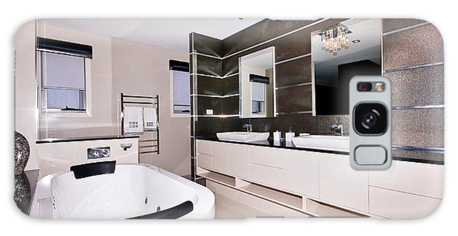 Bath Galaxy S8 Case featuring the photograph Fancy Bathroom Ensuite by Darren Burton