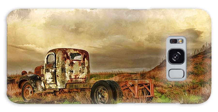 Galaxy S8 Case featuring the photograph Far Rusted Truck by Blake Richards