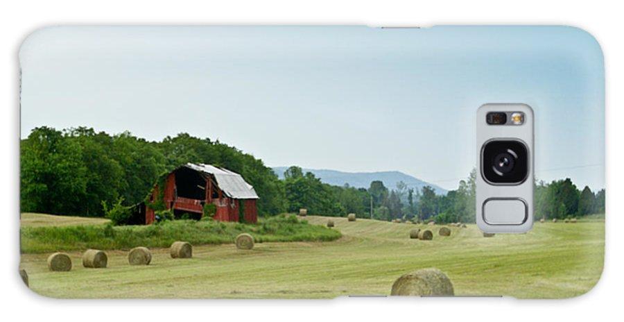 Farm Galaxy S8 Case featuring the photograph Farm Barn Listing by Douglas Barnett