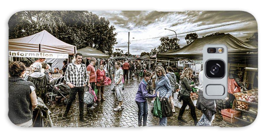 Market Galaxy S8 Case featuring the photograph Farmer's Market 2 by Wayne Sherriff