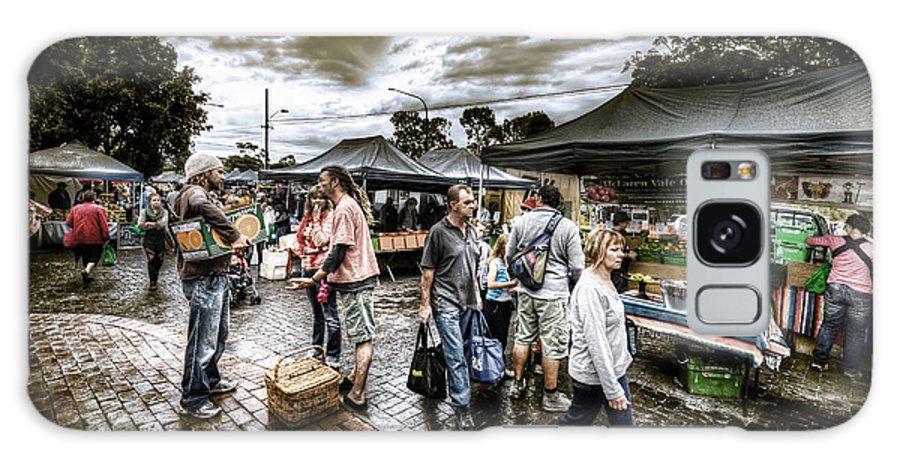 Market Galaxy S8 Case featuring the photograph Farmer's Market 3 by Wayne Sherriff