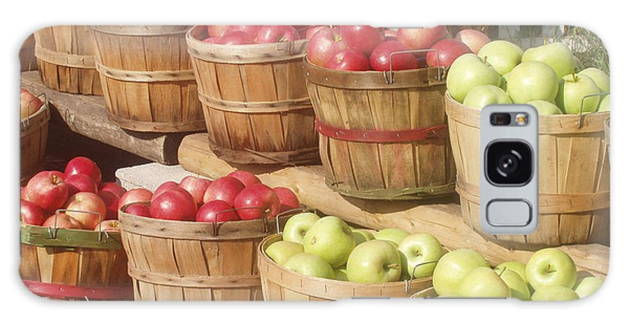Farmers Market Galaxy S8 Case featuring the photograph Farmer's Market Apples by Wayne Potrafka