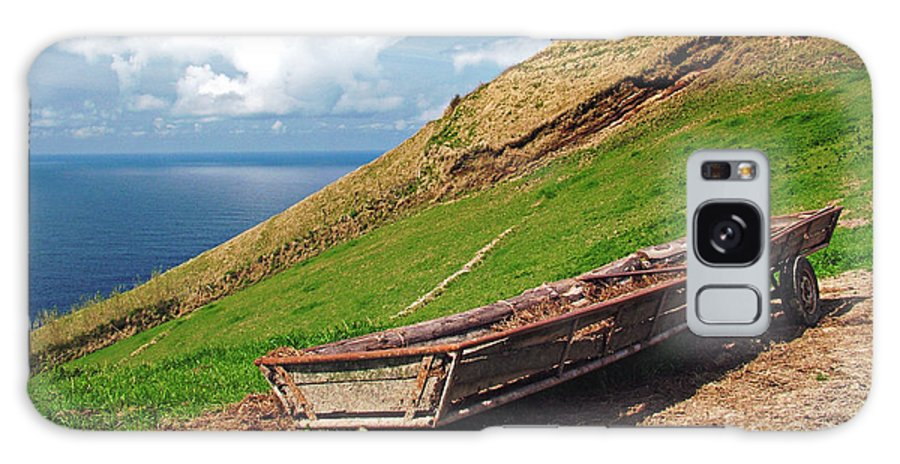 Europe Galaxy Case featuring the photograph Farming In Azores Islands by Gaspar Avila