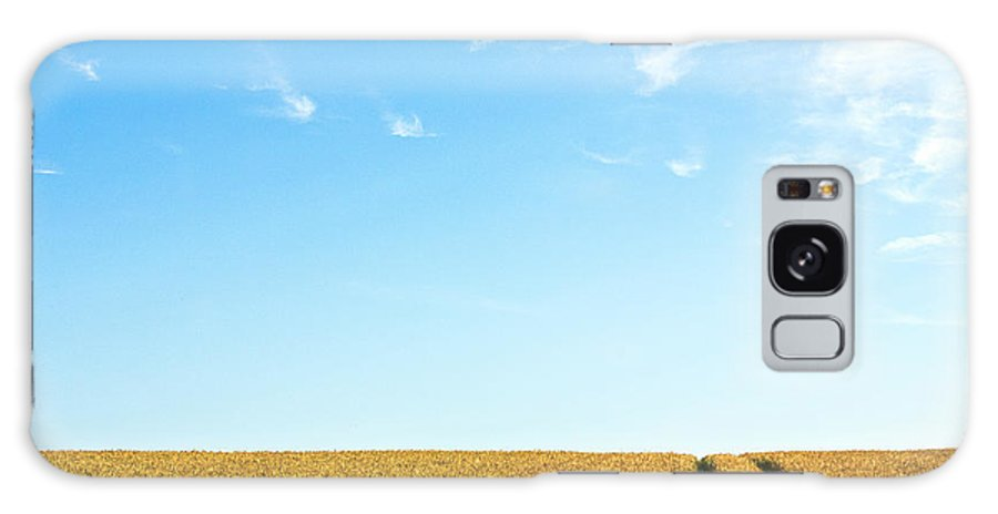 Europe Galaxy S8 Case featuring the photograph Farmland To The Horizon 1 by Heiko Koehrer-Wagner