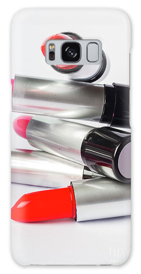 Make-up Galaxy S8 Case featuring the photograph Fashion Model Lipstick by Jorgo Photography - Wall Art Gallery
