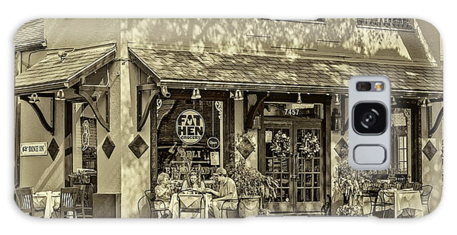 New Orleans Galaxy S8 Case featuring the photograph Fat Hen Grocery Sepia by Steve Harrington