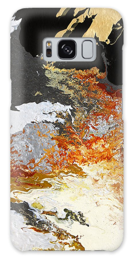 Fusionart Galaxy Case featuring the painting Fathom by Ralph White