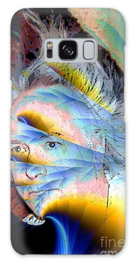 Faun Galaxy S8 Case featuring the digital art Faunus by Ron Bissett