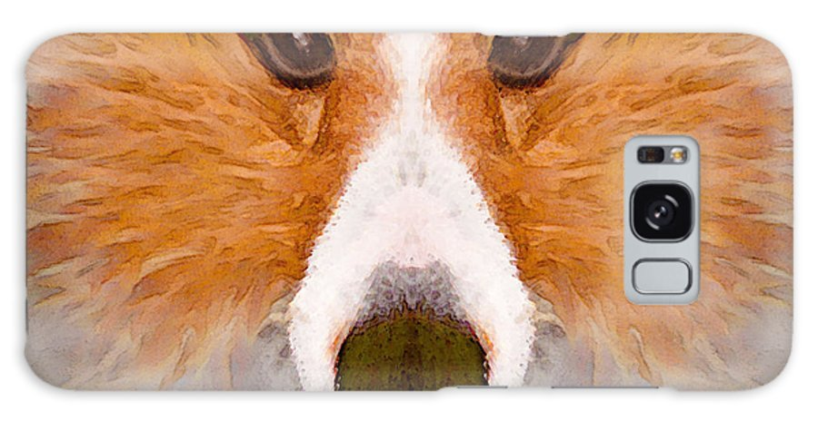 Dog Galaxy S8 Case featuring the painting Faye Sprayed by Peter J Sucy