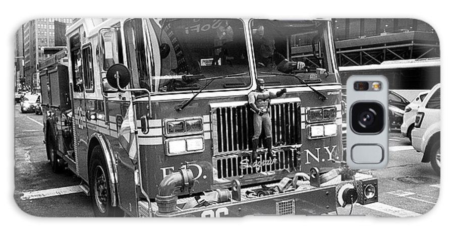 Fdny Galaxy S8 Case featuring the photograph fdny engine New York City USA by Joe Fox