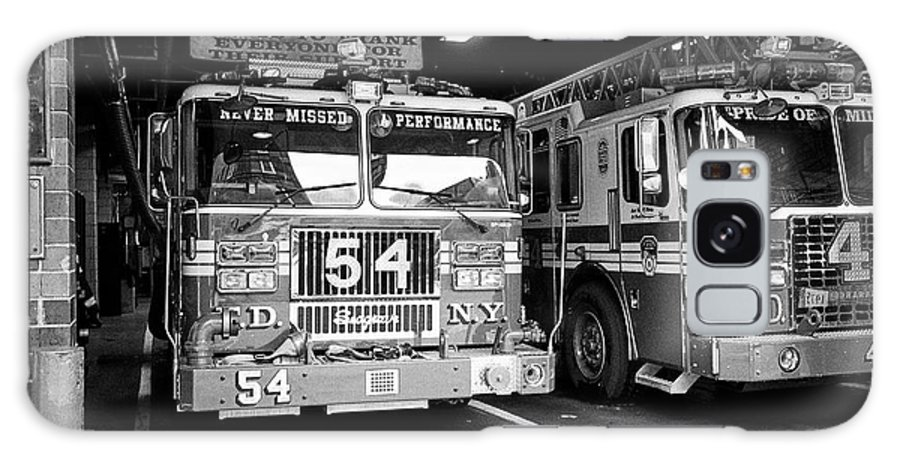 Fdny Galaxy S8 Case featuring the photograph fdny fire station with engine 54 and ladder 5 battalion 9 New York City USA by Joe Fox