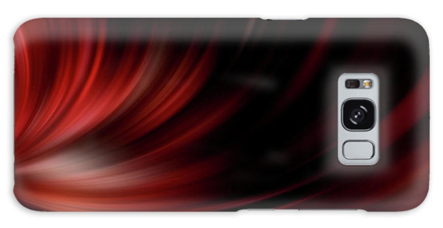 Red Galaxy S8 Case featuring the photograph Feel Free - Peace Comes From Within by Sharon Mau