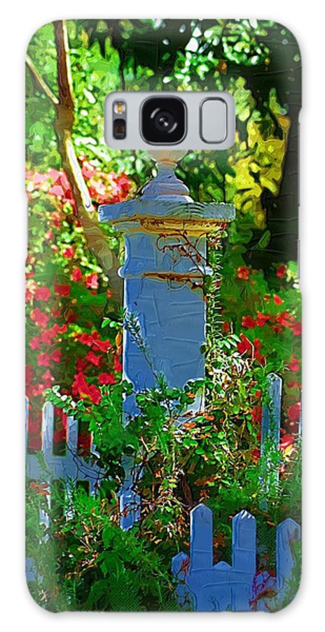 Fence Galaxy S8 Case featuring the photograph Fencepost by Donna Bentley