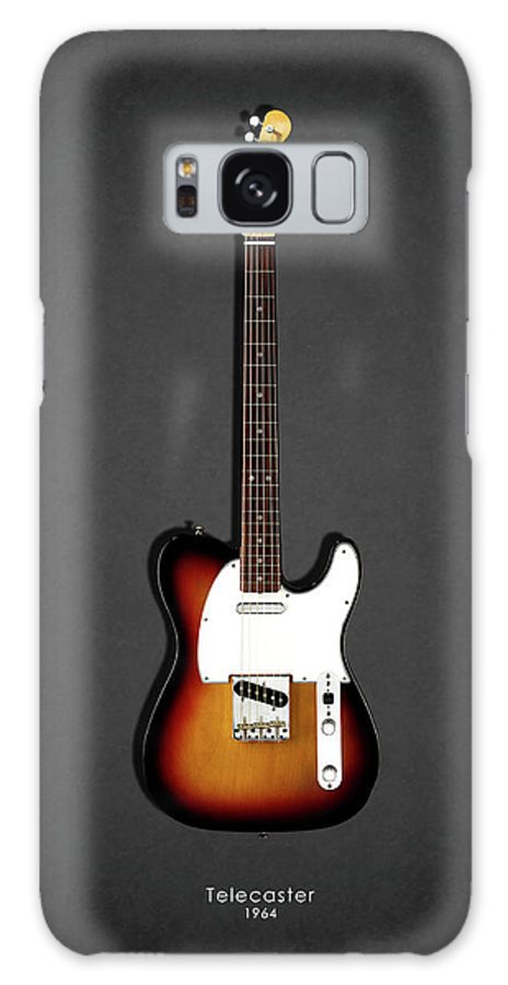 Fender Telecaster Galaxy Case featuring the photograph Fender Telecaster 64 by Mark Rogan