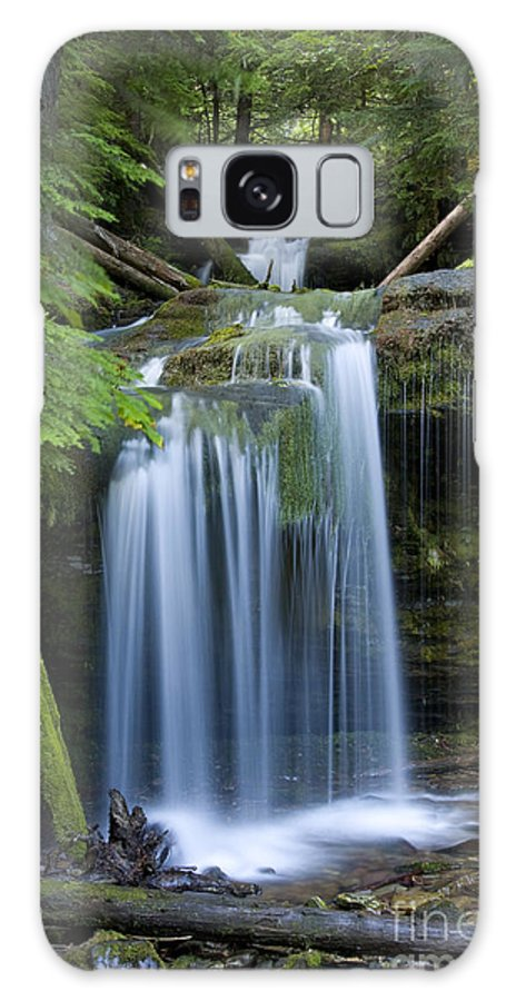 Waterfalls Galaxy S8 Case featuring the photograph Fern Falls by Idaho Scenic Images Linda Lantzy