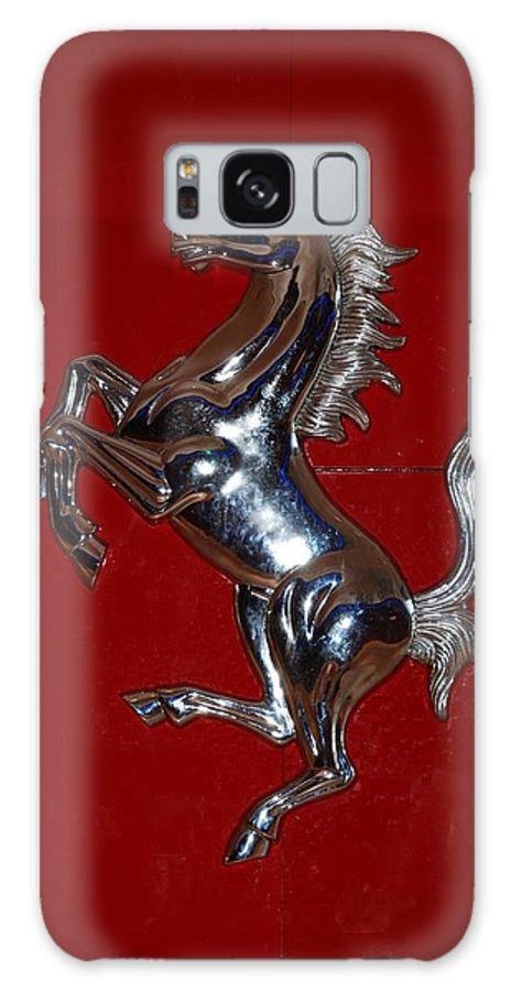 Pop Art Galaxy S8 Case featuring the photograph Ferrari Stallion by Rob Hans