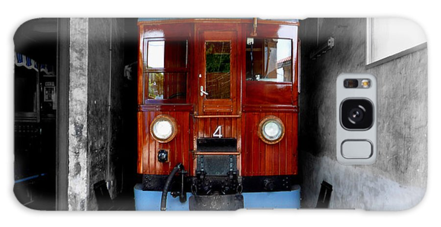 Train Galaxy Case featuring the photograph Ferrocarrril De Soller by Charles Stuart
