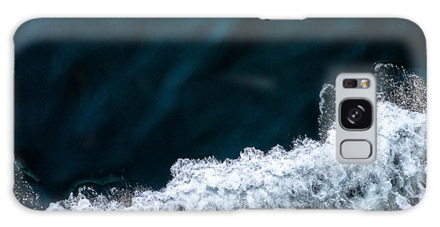 Ocean Galaxy S8 Case featuring the photograph Ferry Waves by Tanya Harrison