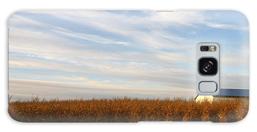 Country Galaxy S8 Case featuring the photograph Fields Of Gold by Rhonda Barrett
