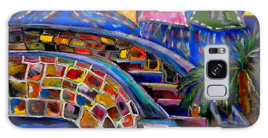San Antonio Galaxy S8 Case featuring the painting Fiesta by Patti Schermerhorn