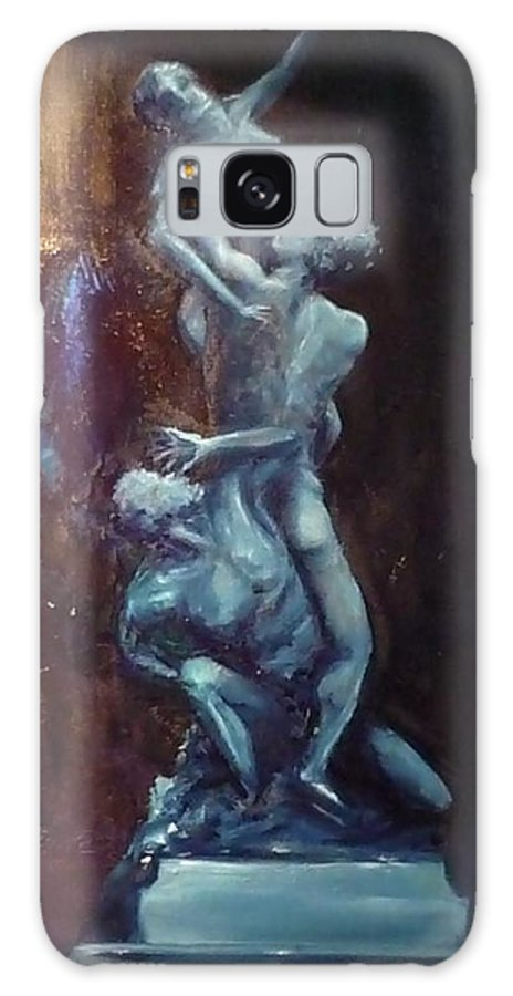 Classics Galaxy Case featuring the painting Figurative IIi by Lizzy Forrester