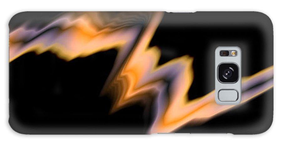 Art Digital Art Galaxy S8 Case featuring the digital art Fire by Alex Porter