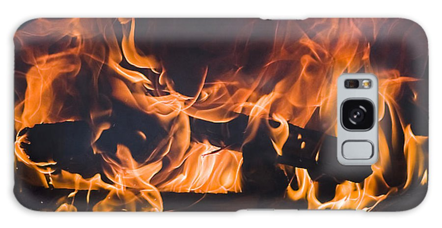 Galaxy S8 Case featuring the photograph Fire by Brian Jordan