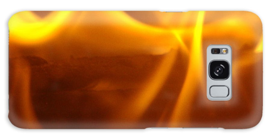 Fire Galaxy S8 Case featuring the photograph Fire Desire Seattle Art Mesmerizing Autumn Warmth Baslee Troutman by Baslee Troutman