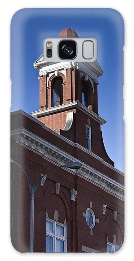 Roanoke Galaxy S8 Case featuring the photograph Fire Station No 1 Roanoke Virginia by Teresa Mucha