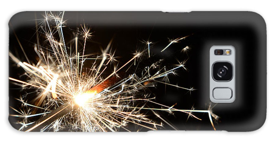 Fire Galaxy S8 Case featuring the photograph Firework - Type A by Tianyu Li