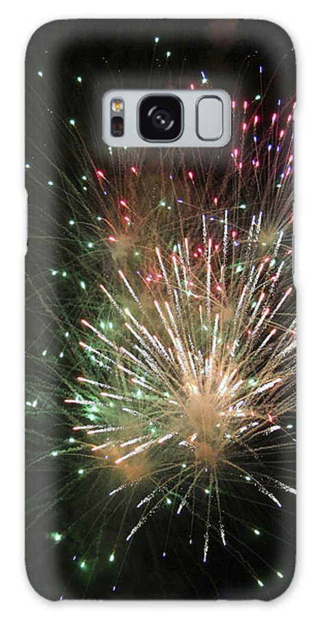 Fireworks Galaxy S8 Case featuring the photograph Fireworks by Margie Wildblood