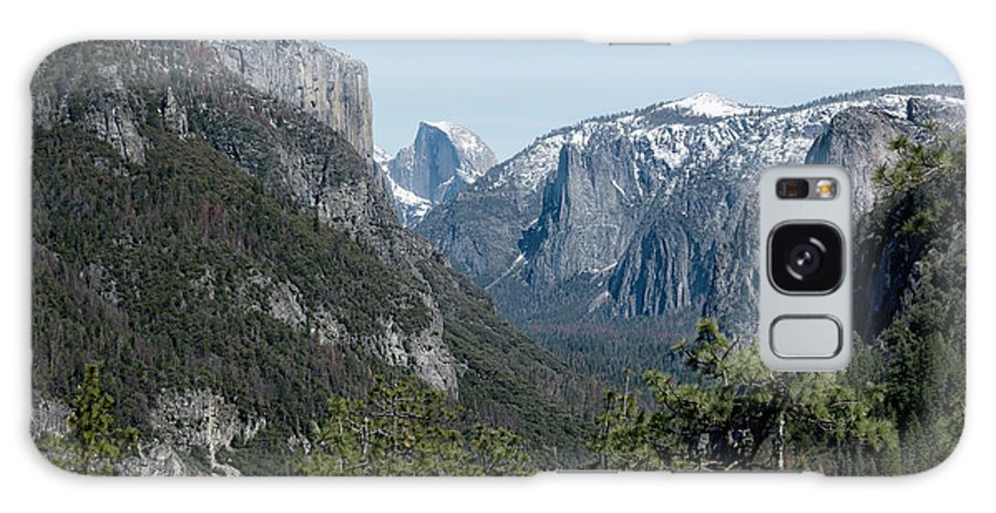 Yosemite Galaxy S8 Case featuring the photograph First View Of Yosemite Valley by Belinda Greb