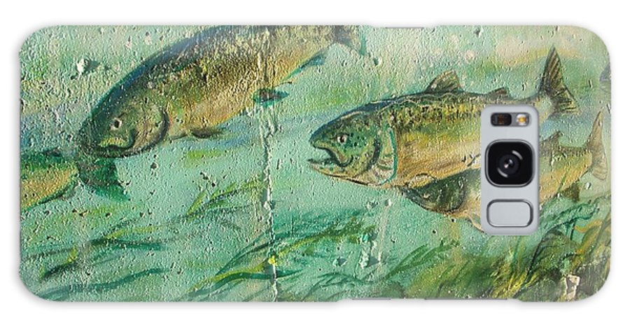 Fish Galaxy S8 Case featuring the photograph Fish On The Wall 2 by Vesna Antic